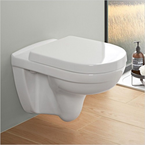 Villeroy & Boch - O.Novo Compact Wall Hung WC & Soft Close Seat Pack
