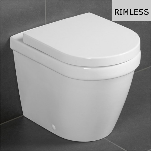Villeroy & Boch - Architectura Floorstanding Back To Wall WC, Rimless