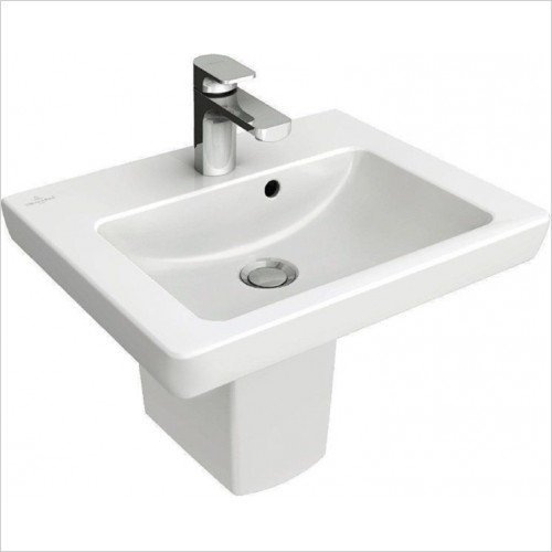 Villeroy & Boch - Subway 2.0 Hand Washbasin 450 x 370mm