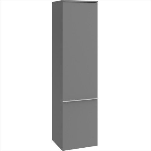 Villeroy & Boch - Venticello Tall Cabinet With 1 Door, Chrome Handles, LH