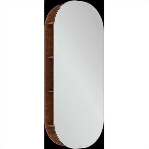 Villeroy & Boch - Antheus Mirror With Shelves 600 x 1400 x 178mm