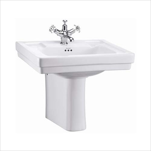 Burlington - Contemporary Basin 580mm, 1 Tap Hole