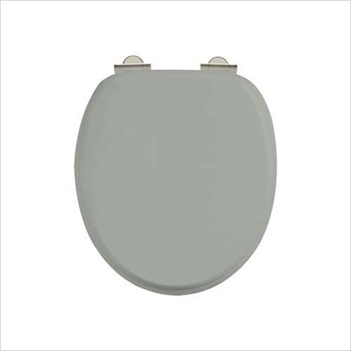 Burlington - Soft Close Toilet Seat With Chrome Hinges