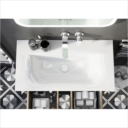 Crosswater - Arena 750mm Basin With No Tap Hole
