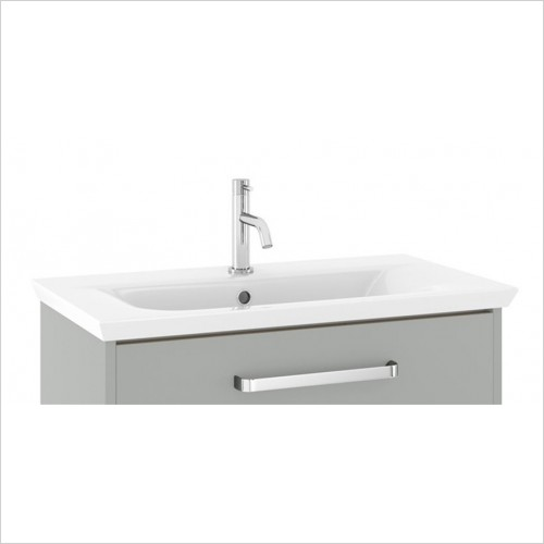 Crosswater - Arena 750mm Basin With 1 Tap Hole