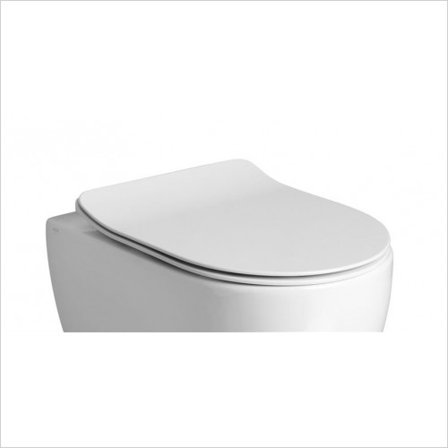 Crosswater - Glide II Soft Close Short Projection Toilet Seat
