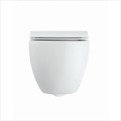Crosswater - Glide II Wall Hung Toilet Rimless 46