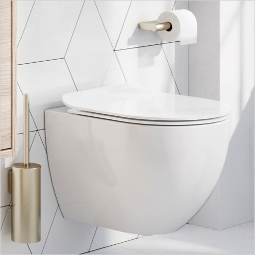 Crosswater - Glide II Back to Wall Toilet Rimless 460mm