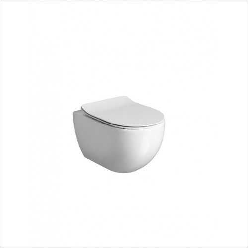 Crosswater - Glide II Wall Hung Toliet Rimless 52