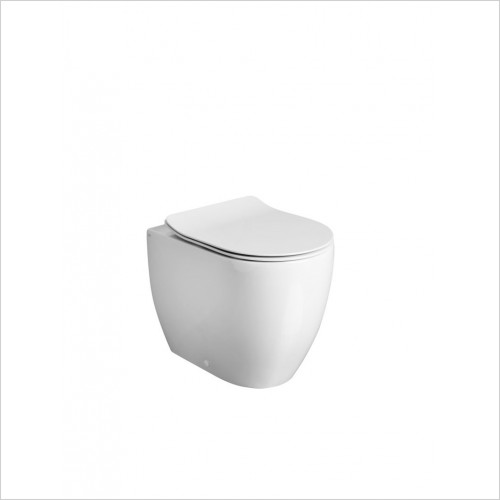Crosswater - Glide II Back to Wall Toilet Rimless