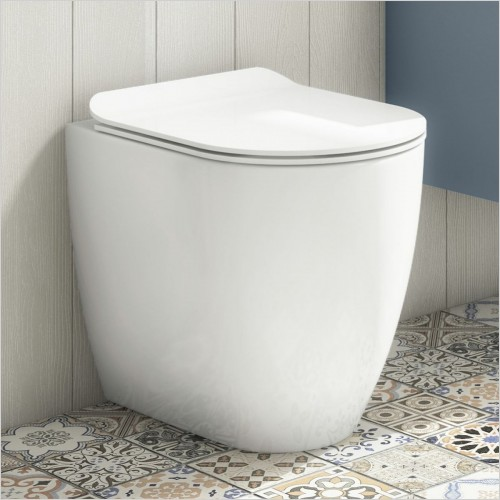 Crosswater - Glide II Back to Wall Toilet Rimless 520mm