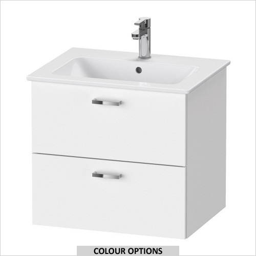 Duravit - XBase Vanity Unit For ME by Starck 630mm Basin
