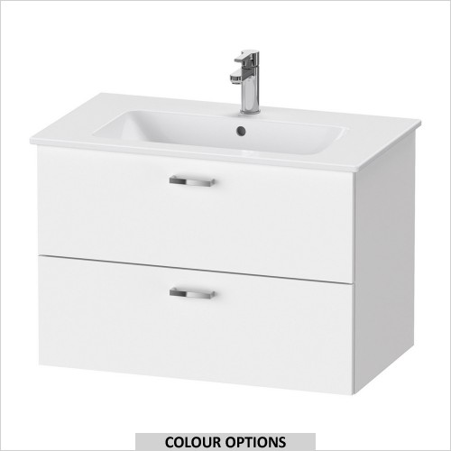 Duravit - XBase Vanity Unit For ME by Starck 830mm Basin