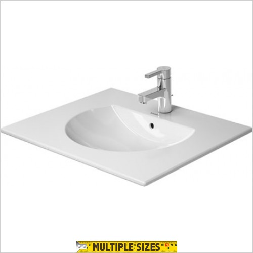 Duravit - Darling New Furniture Basin 630 x 520mm With 1 Tap Hole