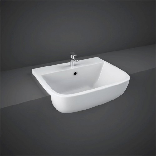 RAK - Series 600 Semi Recessed Basin 520mm