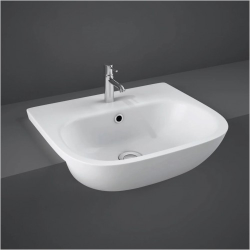 RAK - Tonique Semi Recessed Basin 520mm