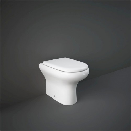 RAK - Compact Back To Wall Pan & Soft Close Seat