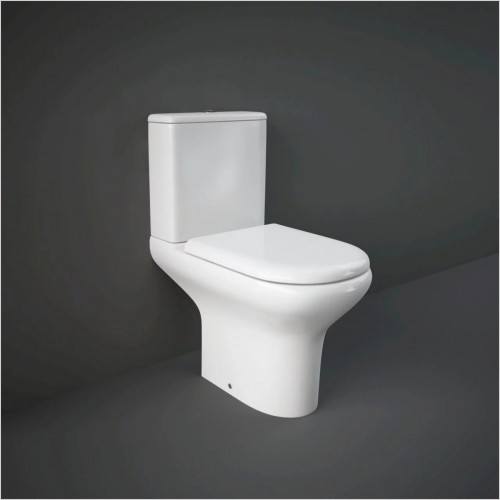 RAK - Compact Close Coupled Toilet & Soft Close Seat