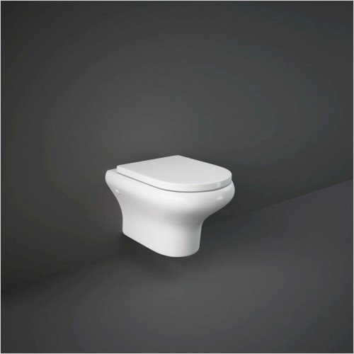 RAK - Compact Wall Hung WC & Soft Close Seat