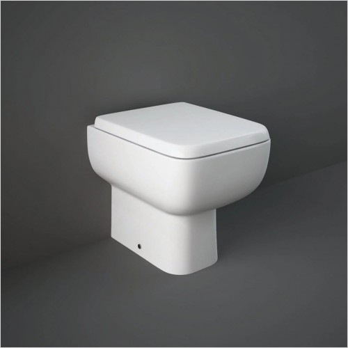 RAK - Series 600 Back To Wall WC & Soft Close Seat