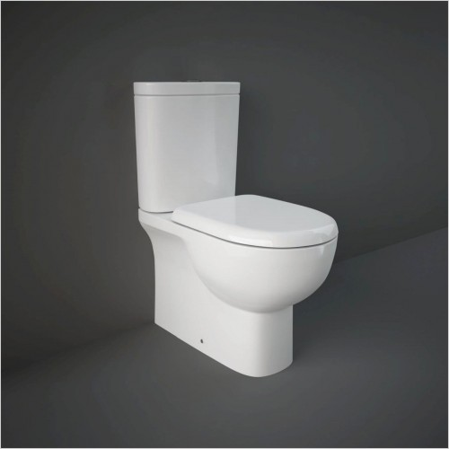 RAK - Tonique Close Coupled Back To Wall Toilet & Soft Close Seat
