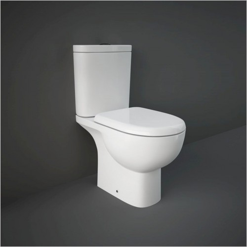 RAK - Tonique Close Coupled Toilet & Soft Close Seat