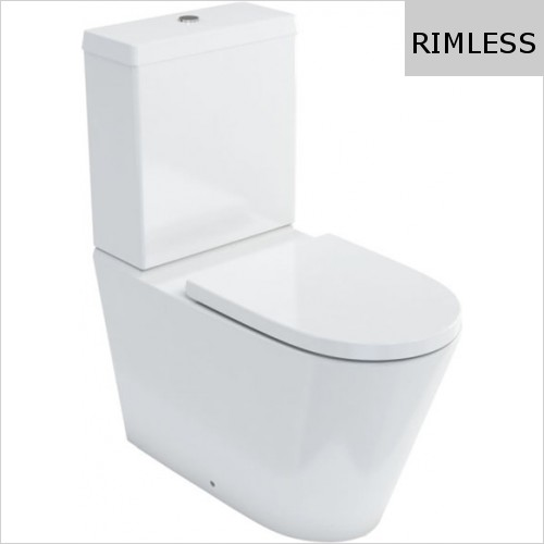 Britton - Sphere Rimless Close Coupled WC