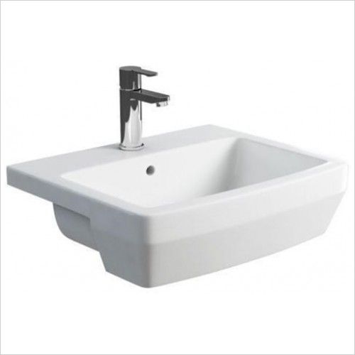 Britton - Cube Semi Recessed Basin 550 x 450mm