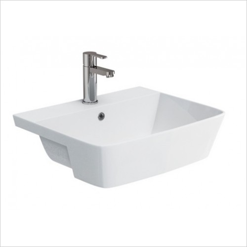Britton - Fine Semi Recessed Basin 550 x 450mm