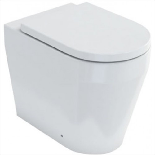 Britton - Compact Semi Recessed Basin 550 x 365mm