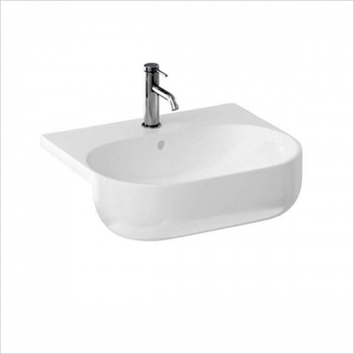 Britton - Milan Semi Recessed Basin 550 x 470mm