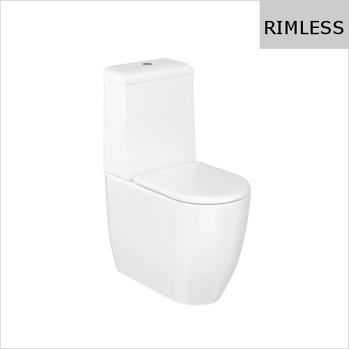 Britton - Milan Rimless Close Coupled WC