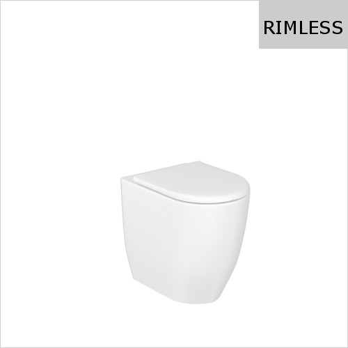 Britton - Milan Rimless Back To Wall WC