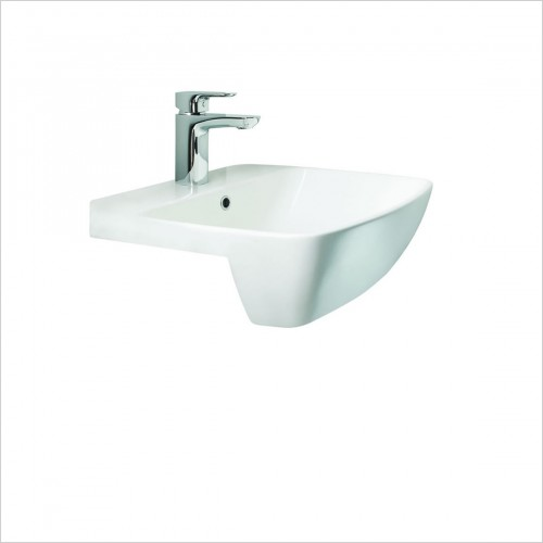 Britton - MyHome Semi Recessed Basin 500 x 420mm