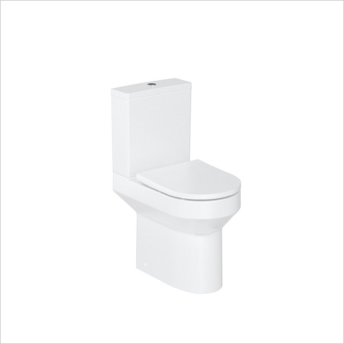 Britton - Shoreditch Round Rimless Close Coupled WC