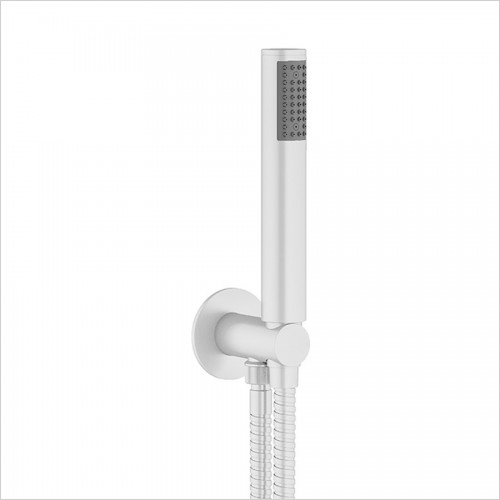 Crosswater - MPRO Wall Outlet, Handset & Hose