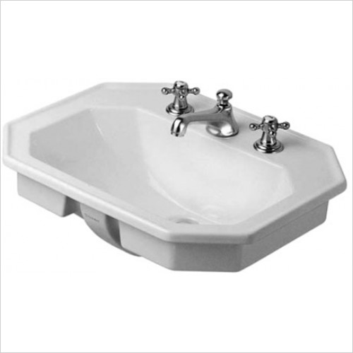 Duravit - 1930 Series Countertop Basin 580 x 470mm With 1 Tap Hole