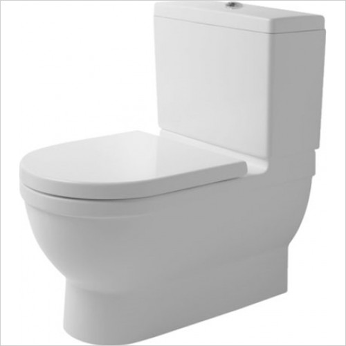 Duravit - Starck 3 Close Coupled Big Toilet