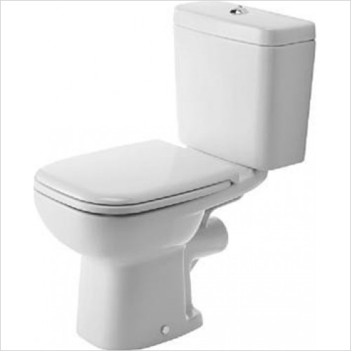 Duravit - D-Code Close Coupled Toilet