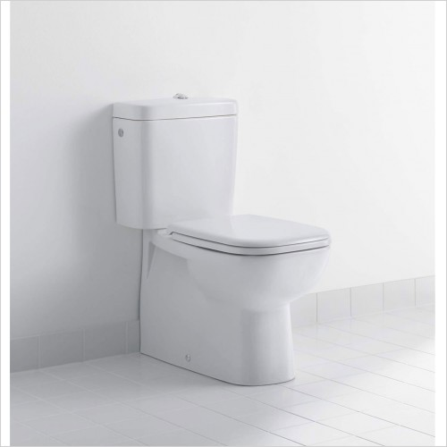 Duravit - D-Code Close Coupled Back To Wall Toilet