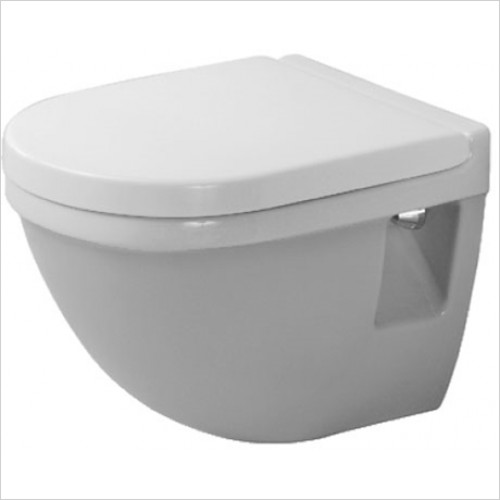 Duravit - Starck 3 Wall Mounted Compact Toilet