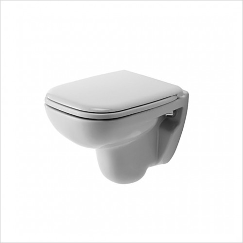 Duravit - D-Code Wall Mounted Compact Toilet