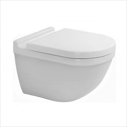 Duravit - Starck 3 Wall Mounted Toilet With Concealed Fixings