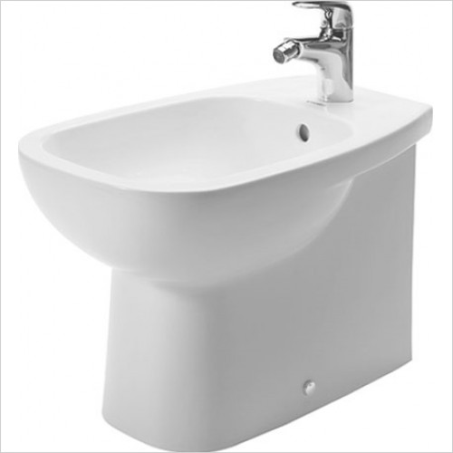 Duravit - D-Code Back To Wall Bidet 355 x 560mm