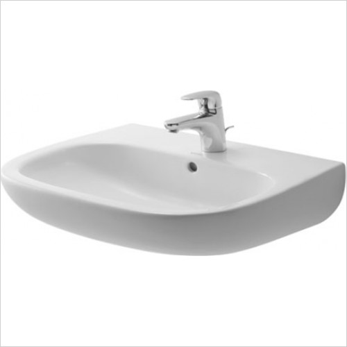 Duravit - D-Code Washbasin 600 x 460mm With 1 Tap Hole