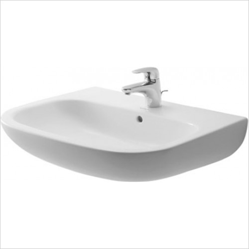 Duravit - D-Code Washbasin 650 x 440mm With 1 Tap Hole