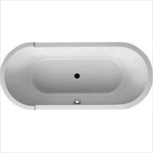 Duravit - Starck Freestanding Oval Bath - 1800 x 800mm