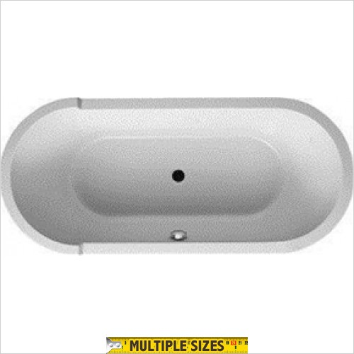 Duravit - Starck Double Ended Oval Bath - 1800 x 800mm