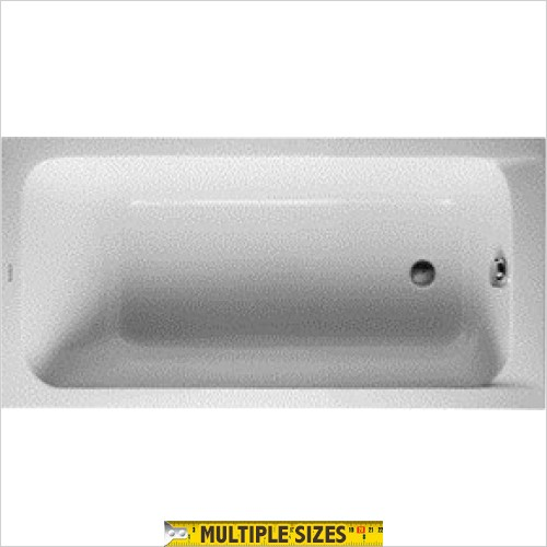 Duravit - D-Code Single Ended Bath - 1500 x 750mm