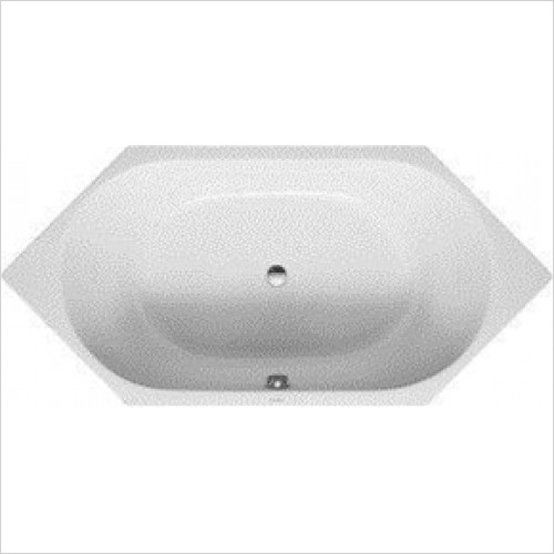 Duravit - D-Code Hexagonal Bath - 1900 x 900mm
